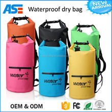 High Quality Custom Logo Waterproof Outdoor Pvc Swimming Tarpaulin Dry Bag