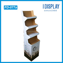 Custom Manufacturer Supply 4 Layers Corrugated Coffee Display Stand Made In China