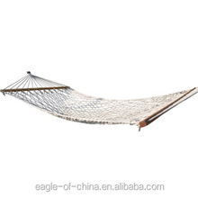 one person outdoor hanging net hammock