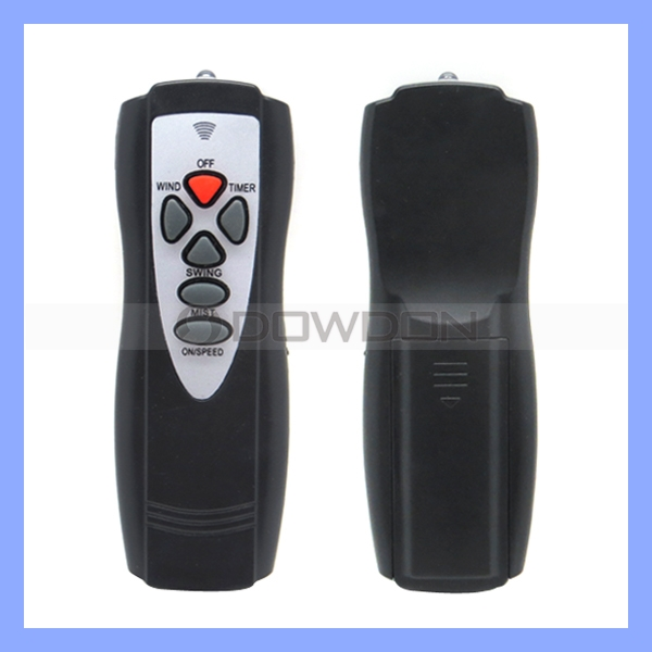 6 Keys Infrared Remote Controller For Air Conditioner Fans Remote Switch DC 3.0V Emission Angle 45 Degree