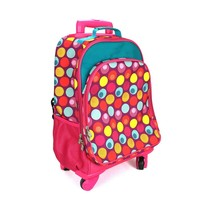 Universal rod bag trolley backpck children school bag