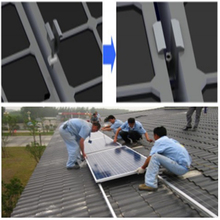 2016 hot sale on alibaba good quality solar panel pole mounting system