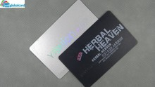 Standard credit card size Free sample ID printing white blank plastic pvc card