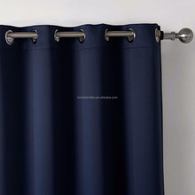 Most Popular NFPA701 Standard Fire Retardant Plain Blackout Curtain Fabric for Hotel Project