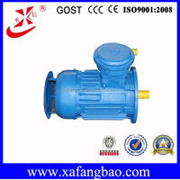 ac Coal Mine Flame Proof Three Phase Induction Motor 0.55kW 1390r/min