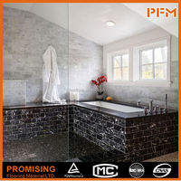 polished surface natural building material marble botticino fiorito slab tile
