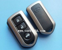 New arrival Toyota Yaris 3 button remote key shell housing case blank cover car key
