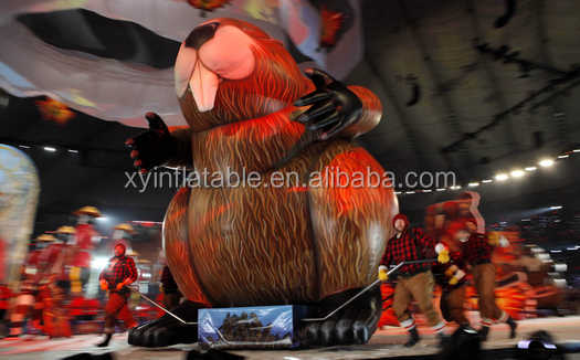 Advetising giant animal replica inflatable Beavers for sale