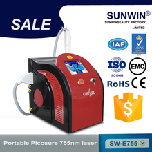 755Nm Alexandrite Picosure Laser Similar To Cynosure Laser Hair Tattoo Removal Machine