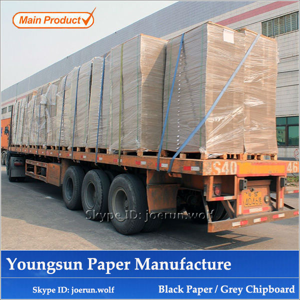 Manufacture 2mm Grey Chip Board Price