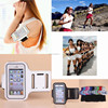 Fitness Running Outdoor Cycling Sports Wrist Pouch Mobile Phone Arm Bag with logo