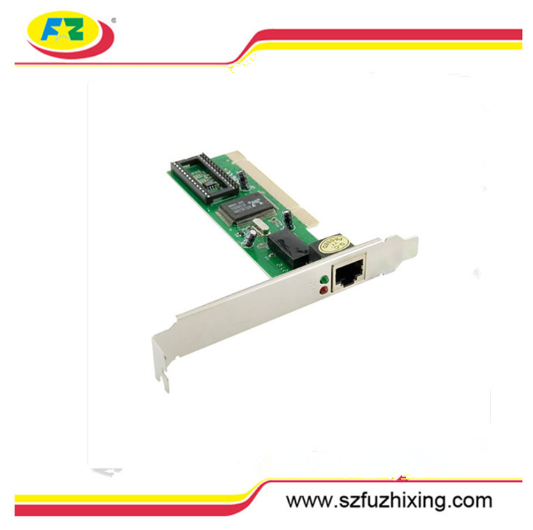 Gigabit LAN PCI network card / Fast Ethernet Adapter 10/100 PCI Fast Ethernet Card Adapter Realtek chipset FZX-R1