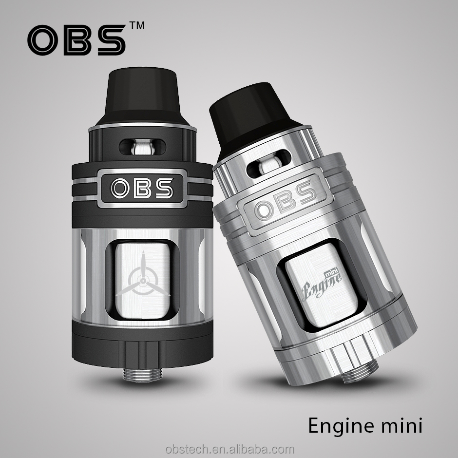 Top Selling Authentic E-cig OBS Engine Nano 5.3ml RTA is Designed by OBS VS OBS Engine MINI 25mm RTA Atomizer!