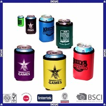 2015 custom print cheap can cooler holder cover