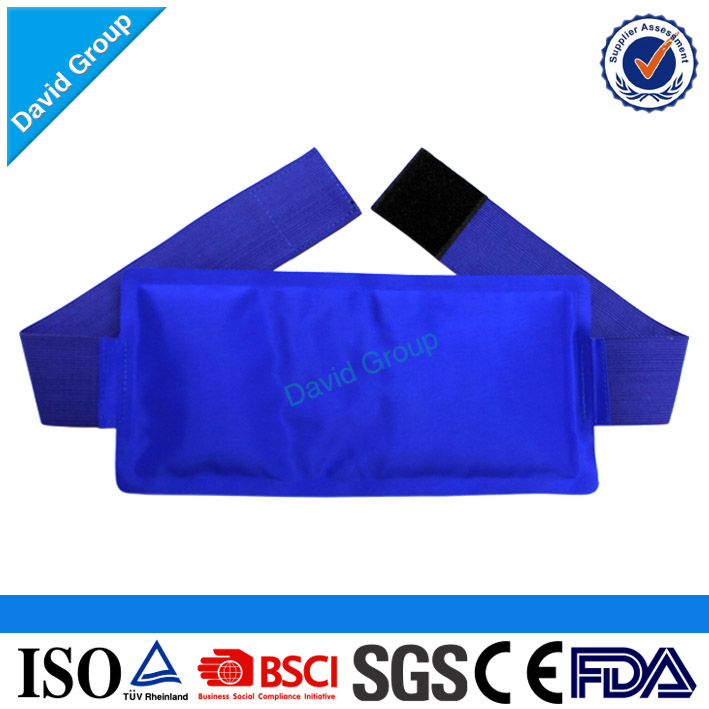 Nylon hot cold pack/Hot cold gel therapy pack