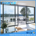 Product characteristics of aluminum and glass sliding door room overlooking the sea