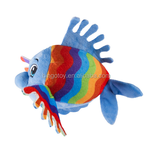 New Arrival Lovely Sea Animal Plush Stuffed Fish Soft Toy For Baby