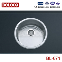 Single bowl sink / stainless steel hand wash basins BL-871