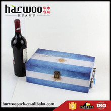 Best gift box with bottle opener Wine set case with handle and accessorices