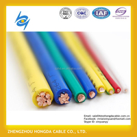 Low Voltage xlpe / pvc insulated electric copper wire Power Cable 4x35mm2