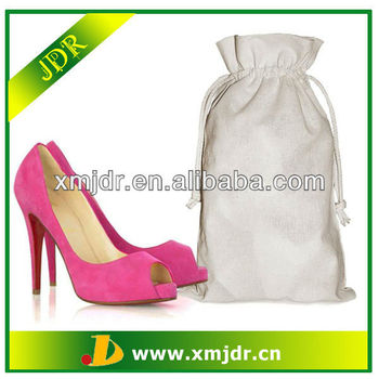 2013 New Style Cotton Drawstring Shoe Bag