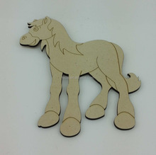 Laser Cut Wood Shapes Wood Cutouts.Wooden Toys for Learning and Coloring.Fun and Easy Kids Cra