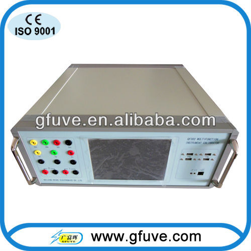 Electrical Monitoring,testing,calibrating instruments GF302 bench top insturments calibrator with english version display