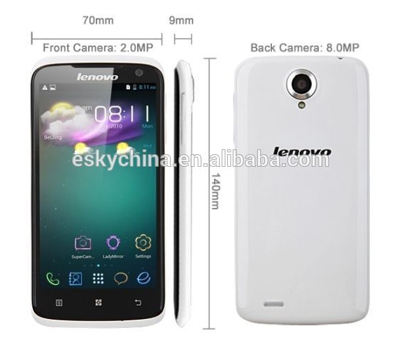 Best selling Lenovo S820 1GB RAM Android 4.2 Dual Sim alibaba express mobile phone