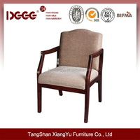DG-W01933 Cheap Used Leather Arm Chair in Natural, Cheery, Mahogany, Walnut For Sale
