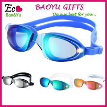 Best Custom Adult Adjustable Silicone Swimming Goggles