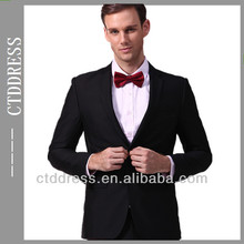 fashion western style mens formal pant suits for weddings