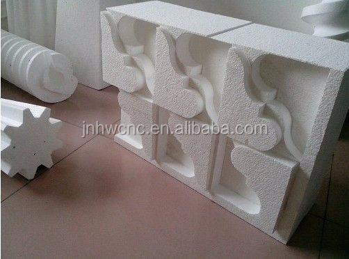 CNC large styrofoam/EPS and Wood Mould cutting waterproof styrofoam CNC Router machine