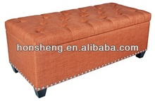 Fabric Storage Bench with NailOT-705