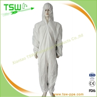 PP+PE clean room smock