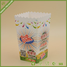 New design popcorn box/bucket/container Eco-Friendly printed custom paper packaging boxes