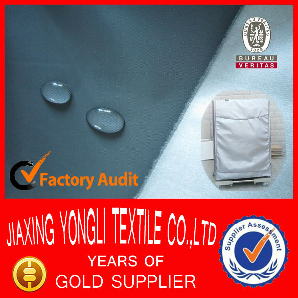 Waterproof Silver Coated Washing Machine or Washer Cover Fabric
