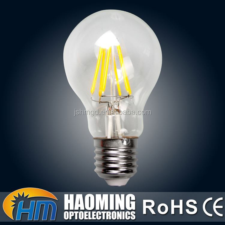 High quality IP44 30000h working lifetime led incandescent light bulb