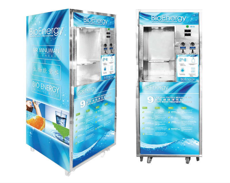Stainless Steel Vending Machine