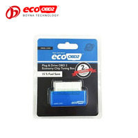 Blue ECOOBD2 for Diesel Cars Chip Tuning Box High Performance Plug and Drive Eco OBD2 Chip