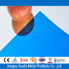 Mirror Finish H24 H32 5083 5754 3mm Thick Blue Color Coated Aluminium Sheets