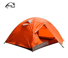Outdoor Heavy Rain Resistant Tent 2 Layer Hiking Tent Ventilatory