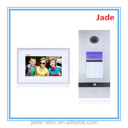 Multi-apartments Video Door Phone Compatible With Invisible Intercom/2- Way Alarm System