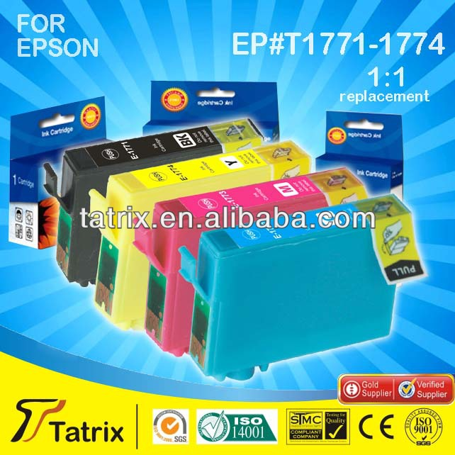 T177 Series for Epson XP-30/XP-102/XP-202/XP-302/XP-402 Deskjet Printer Ink Cartridge T1771 T1772 T1773 T1774 for Epson