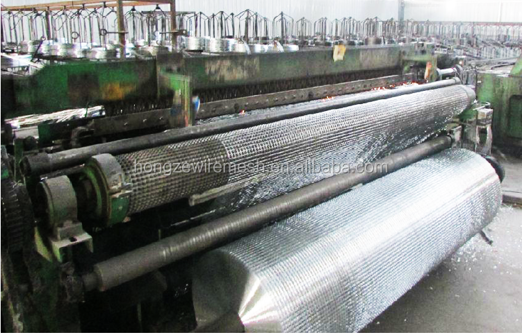 galvanized mesh wire for gabion
