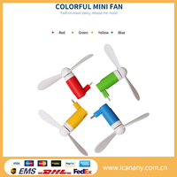 New design outdoor portable mini usb air cooling fan USB phone fan for iphone and android phones
