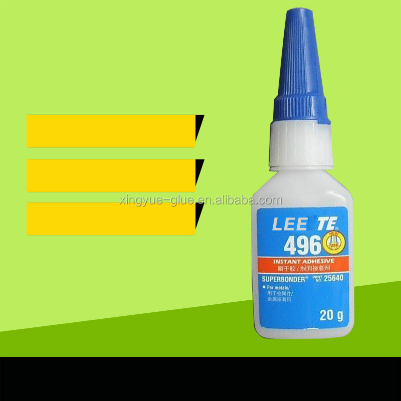 496 glue for metal , high strength fast curing glue