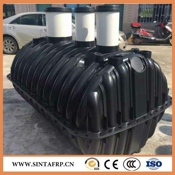 2000 liters Polyethylene Water Biogas Plant Septic Tank