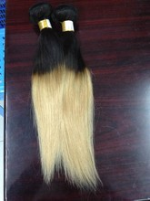Sale promotion straight virgin unprocessed ombre hair
