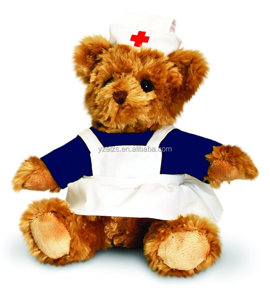 Soft Cute Nurse Teddy Bear Plush Toys