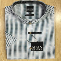 Mens Fashion High Quality Checked Formal